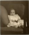 Childhood: Winthrop Rockefeller, newborn (ualr-ms-0001_07_01_pho0283)